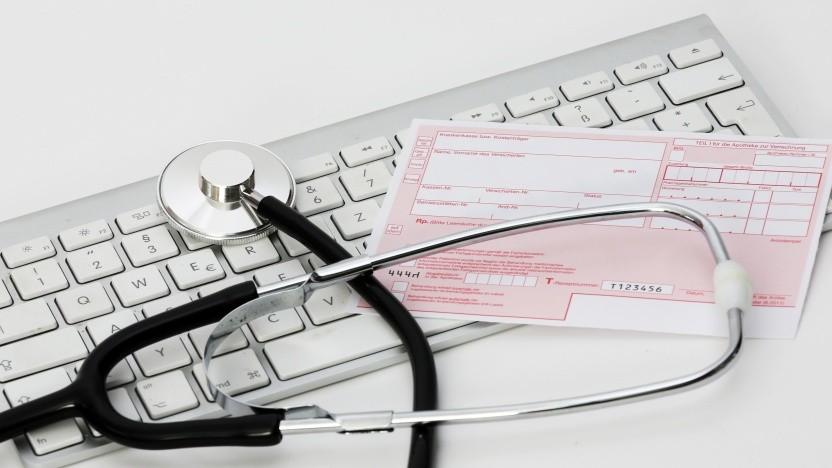 Patientendaten landen in den USA schon häufig bei Google (Symbolbild).