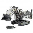 Anzeige: Der LEGO-Technic-Bagger macht den Schreibtisch zur Baugrube