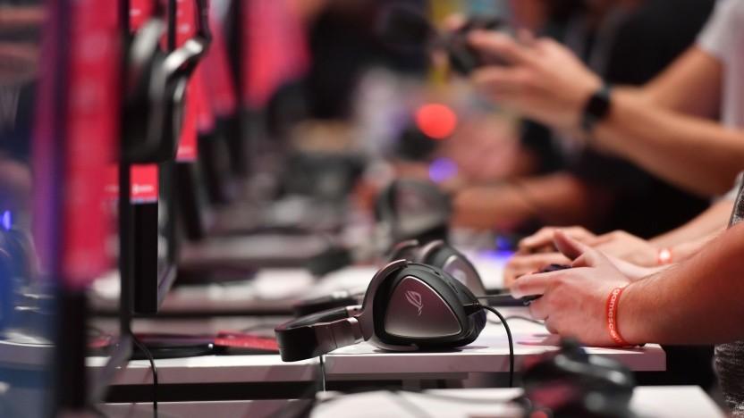Besucher der Gamescom 2019