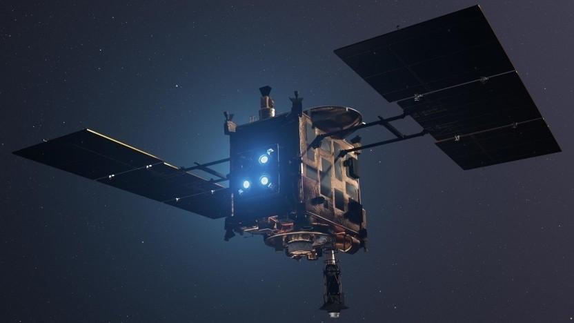 Sonde Hayabusa: Asteroid beschossen und Proben genommen