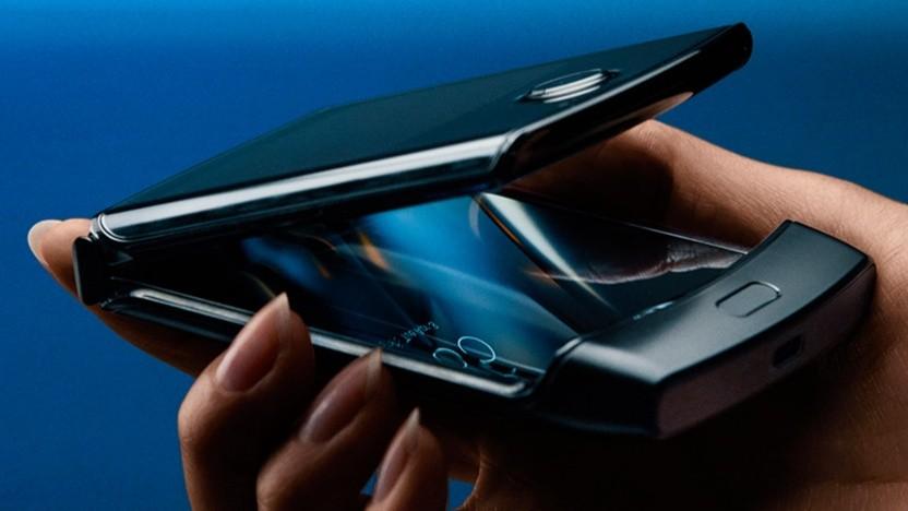 Razr-Smartphone mit Faltdisplay
