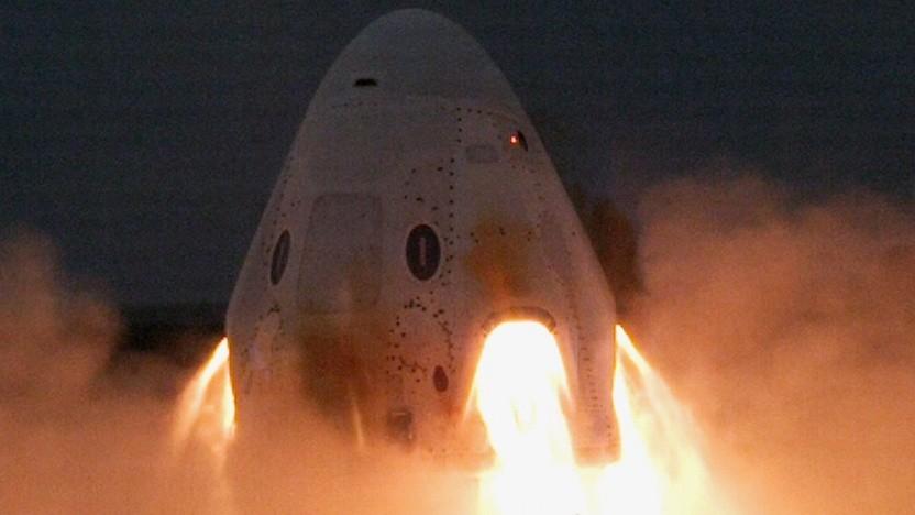 Triebwerkstest des Crew Dragon (am 13. November 2019): Nächster Test schon im Dezember?