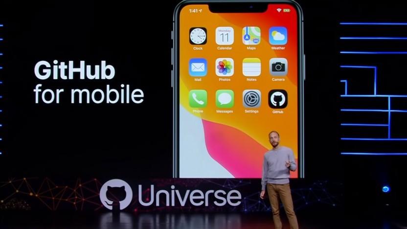 Auf der Konferenz Github-Universe hat das Unternehmen eine App für seinen Dienst angekündigt.