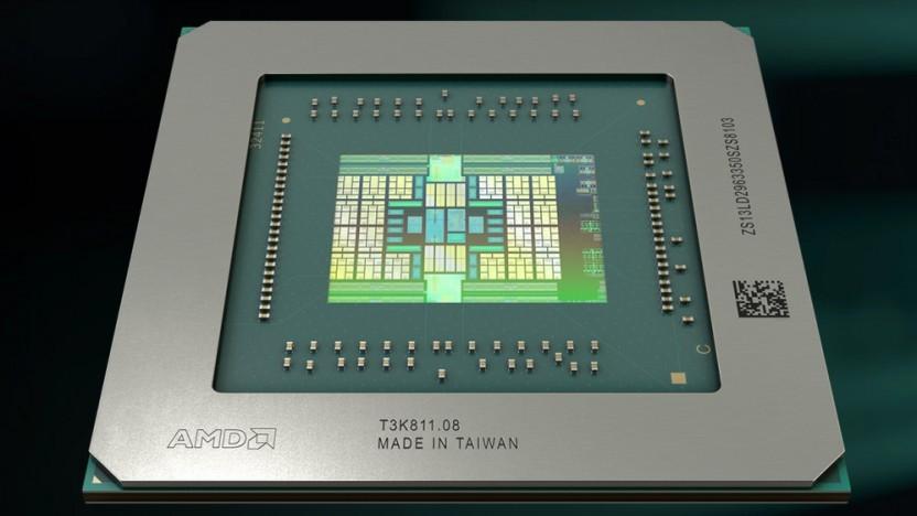 Navi 14 einer Radeon Pro 5x00M