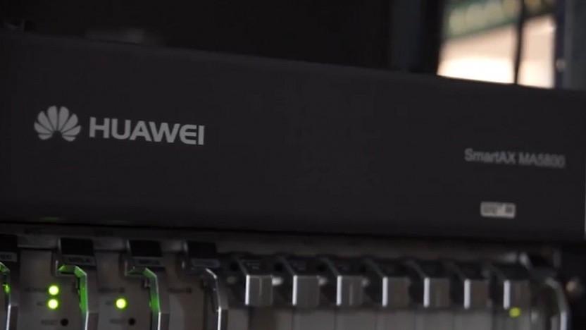 Kabelnetzausrüster Huawei in Spanien bei Vodafone
