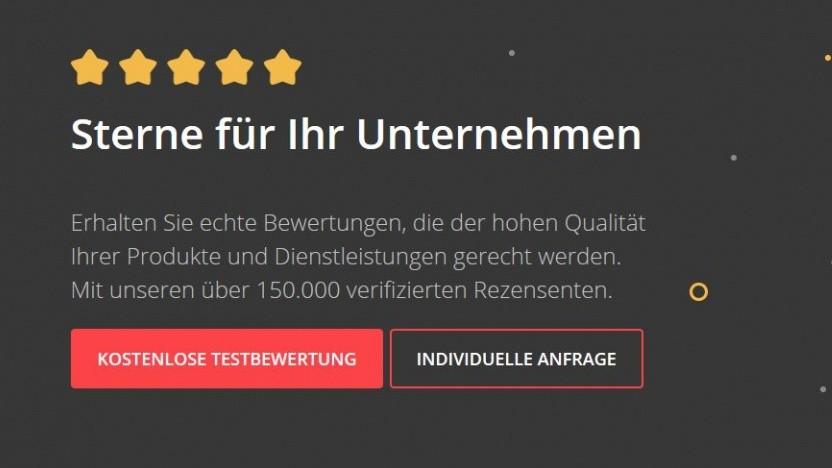 Fivestar wirbt mit mehr als 150.000 Rezensenten.