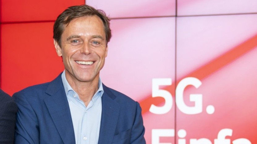 Gerhard Mack, Chief Technologie Officer bei Vodafone Deutschland