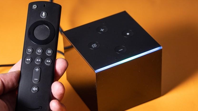 Apple-TV-App gibt es mittlerweile auch für den Fire TV Cube.