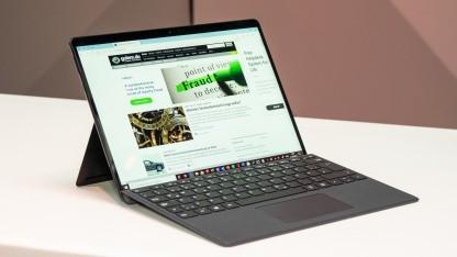 MS Edge läuft nun auch nativ auf dem Surface Pro X.