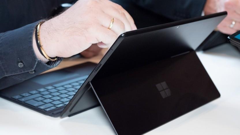 Surface Pro X mit Windows 10 on ARM