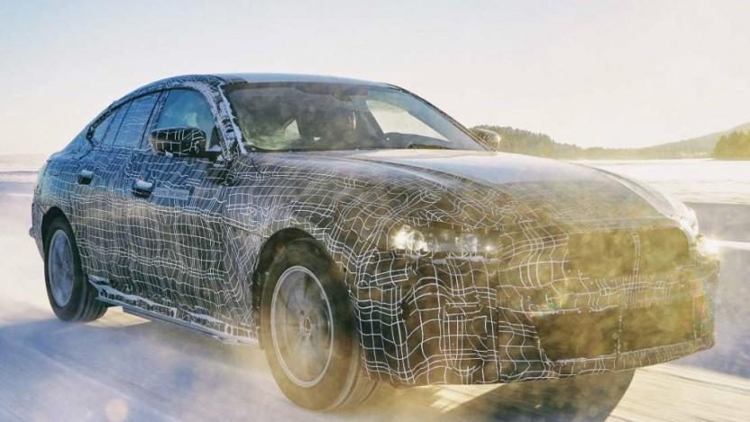 Der BMW i4 soll 2021 auf den Markt kommen.