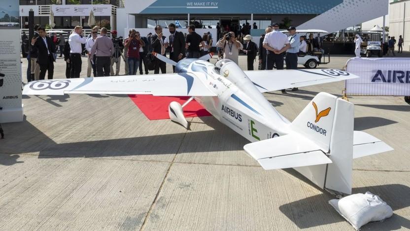 Elektroflugzeug White Lightning: Air Race E soll 2020 starten.