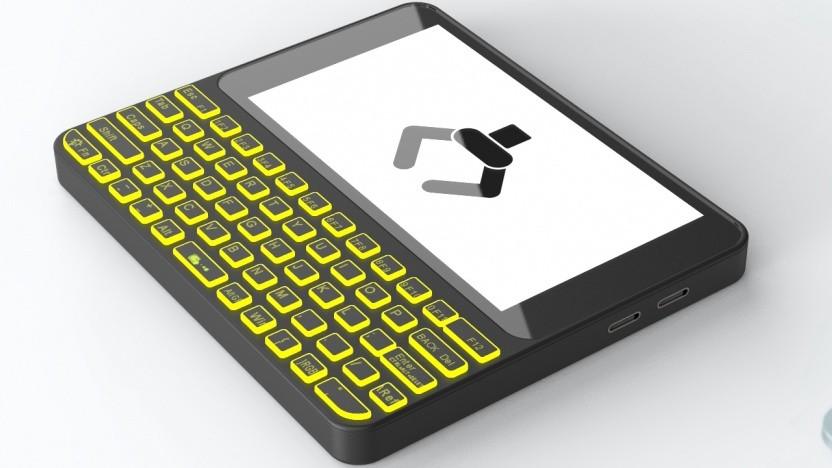 Der Pocket PC wird wohl tatsächlich in die Tasche passen.