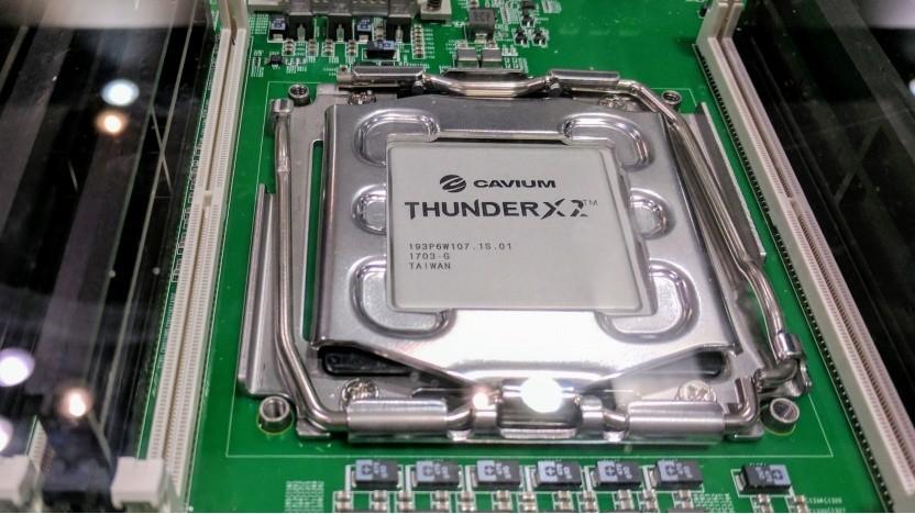 Die ThunderX2 laufen jetzt in Microsofts Azure-Cloud.