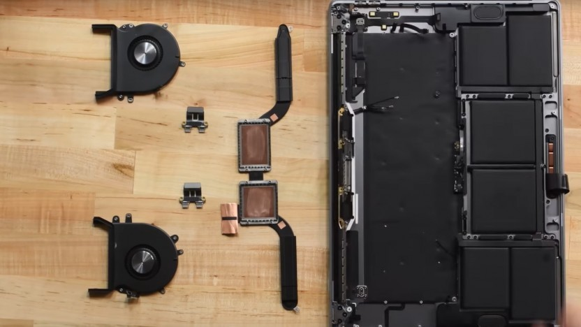Das Macbook Pro 16 ist nicht sehr modular.
