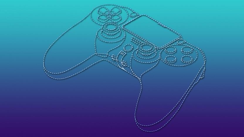 Artwork eines Controllers von Sony