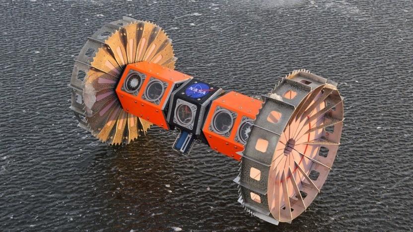 Roboter Bruie: kann monatelang unter dem Eis im Einsatz sein.
