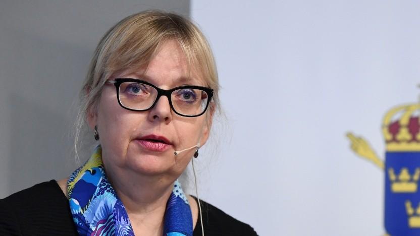 Die stellvertretende Generalstaatsanwältin Eva-Marie Persson stellt die Ermittlungen gegen Assange ein.