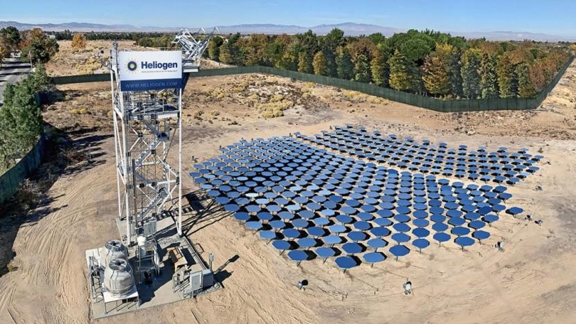 Solaranlage von Heliogen in Lancaster, Kalifornien: ein Schritt auf dem Weg, fossile Brennstoffe zu ersetzen