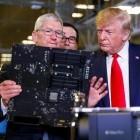 Mobilfunk: Trump will Apple als Ausrüster für 5G in den USA