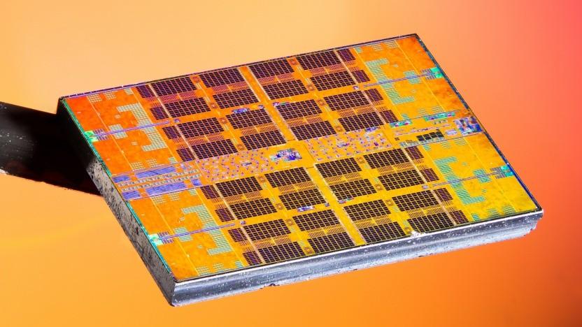 CPU-Chiplet eines Ryzen 3000