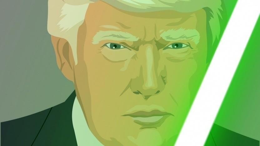 US-Präsident Donald Trump: Hat er die Jedi-Vergabe an Amazon verhindert?