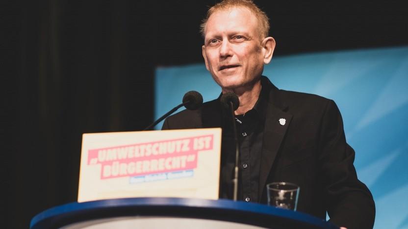 Jimmy Schulz bei einem seiner letzten öffentlichen Auftritte im März 2019