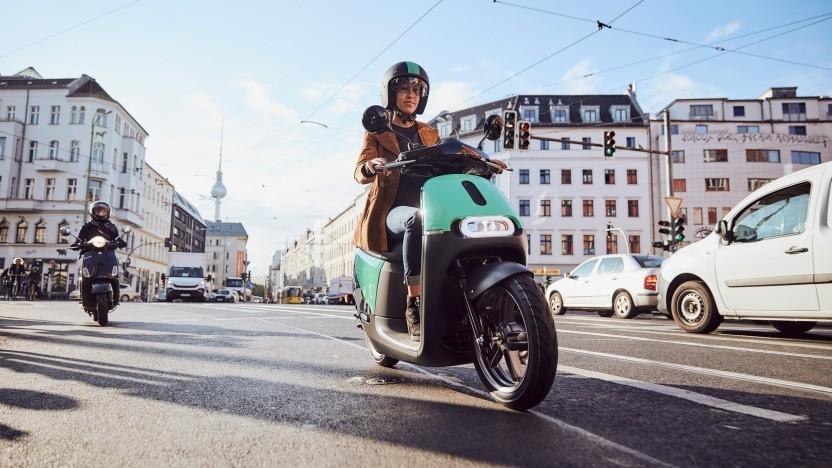 Die Coup-Roller werden bald ihre letzte Fahrt in Berlin antreten.