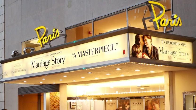 The Paris Theater in New York City wird von Netflix weiter betrieben.