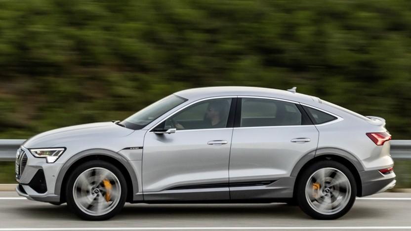 Der neue E-Tron Sportback ist das zweite vollelektrische Audi-Modell.