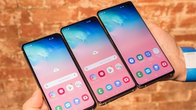 Die Galaxy-S10-Reihe bekommt Android 10.