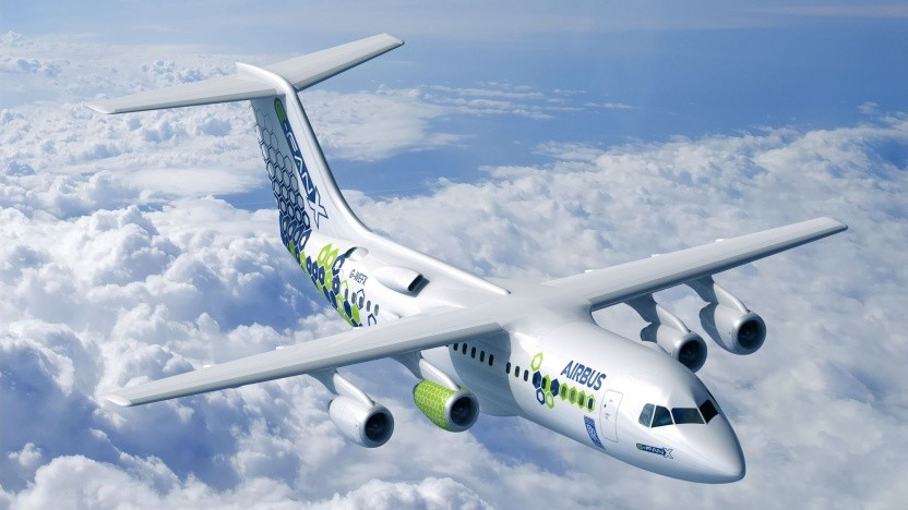 """Hybridflugzeug Airbus E-Fan X: """"Es ist an der Zeit, eine neue Generation neuer Technologien zu entwickeln."""""""
