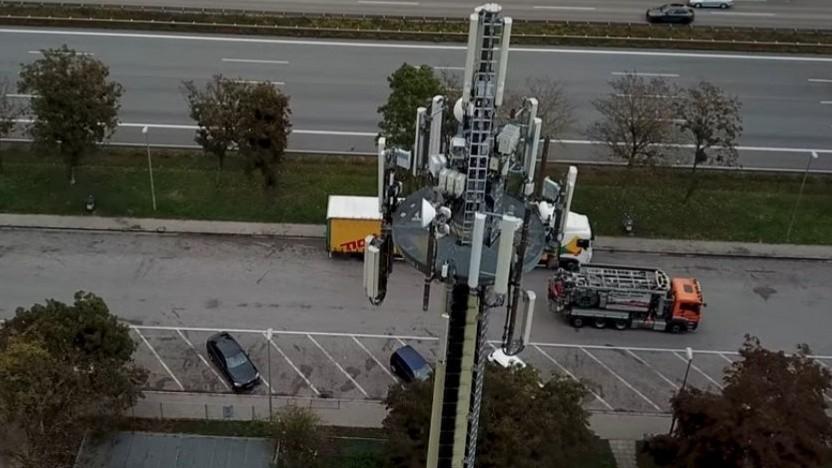 Ausbau der Telekom an der A2