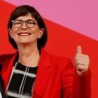 Mitgliederentscheid: Netzpolitikerin Esken wird SPD-Chefin