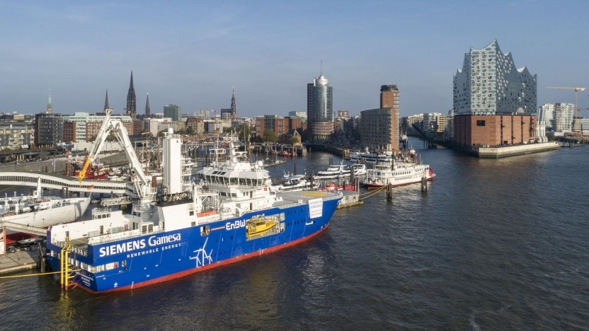 Serviceschiff Bibby Wavemaster Horizon: Anleihe bei Fridays for Future