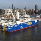 Windanlagen-Serviceschiff: Bei meterhohen Wellen bleibt Bibby ruhig