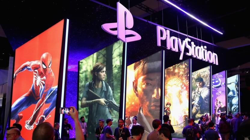 Stand von Sony auf der Spielemesse E3 2018