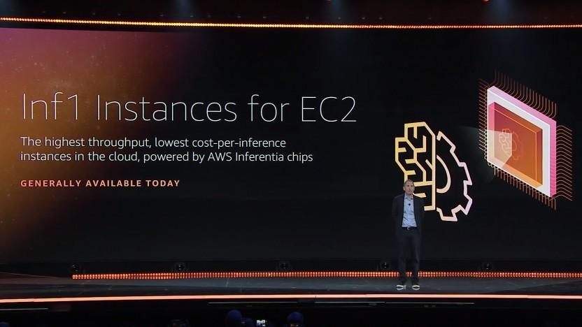 Amazon bietet nun Inferencing-Chips in seiner Cloud.