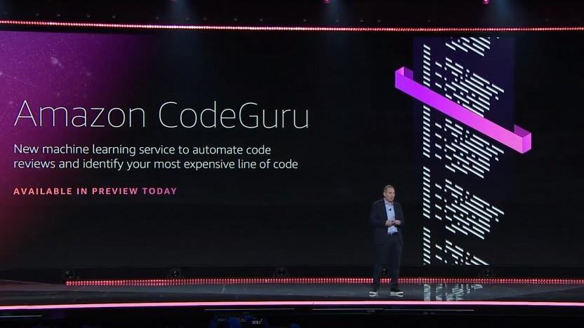 Codeguru von Amazon soll bei Code Reviews helfen.