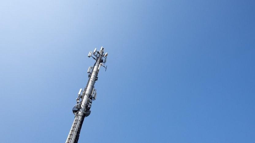 Mobilfunkanlage der Telekom
