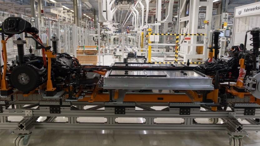 Die Produktion des neuen VW ID.3 in Zwickau