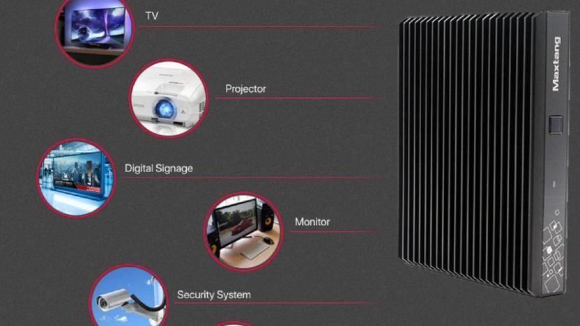 Maxtangs Mini-PC verwendet einen AMD-Prozessor für Notebooks.
