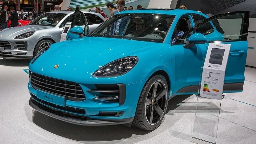 Porsche Macan (Symbolbild): Bekommt der E-Macan den neuen Antriebsstrang?