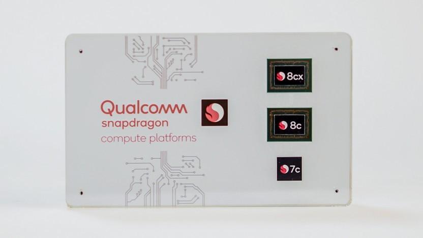 Snapdragon 8c/7c: Zwei Chips für Chromebooks und Win10 on ARM - Golem.de