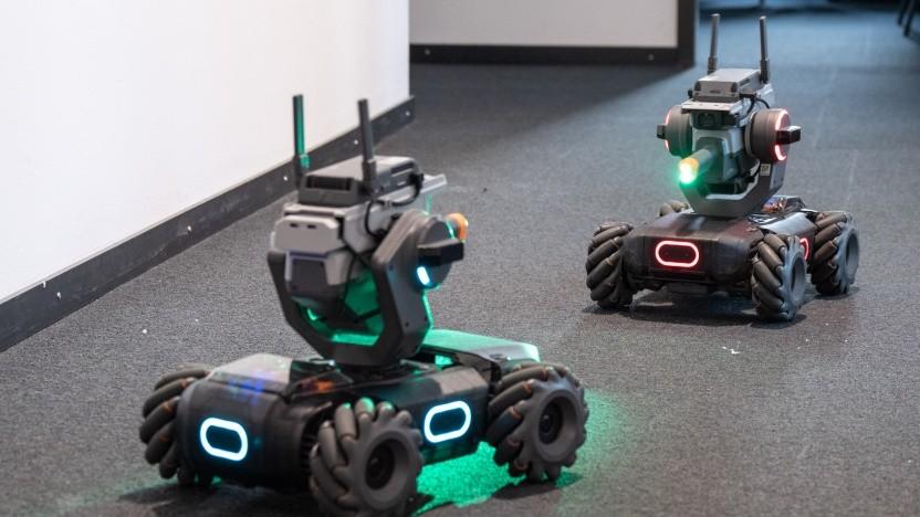 Video: Im Doppelpack macht der Robomaster gleich mehr Spaß.