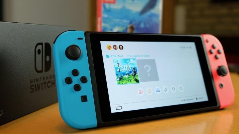 Die Nintendo Switch ist anscheinend nicht nur eine Spielekonsole.
