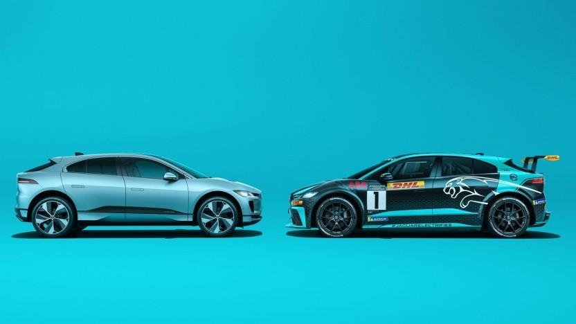 Jaguar I-Pace im Straßen- und Renntrimm: großer Datenfundus aus dem Rennsport