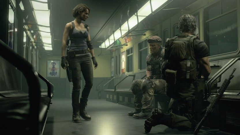 Artwork von Resident Evil 3 Nemesis (Remake)