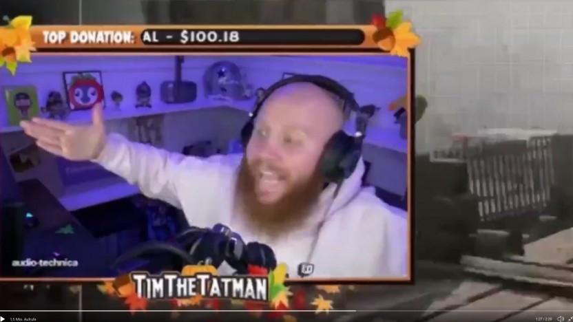 """""""TimTheTatman"""" gibt auf Twitter bekannt, dass er bei Twitch bleibt."""