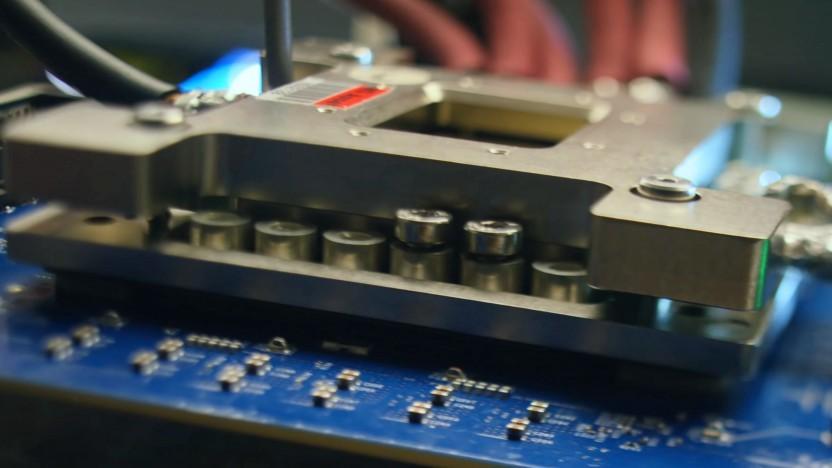 Hardware aus einem Xbox-Scarlett-Trailer